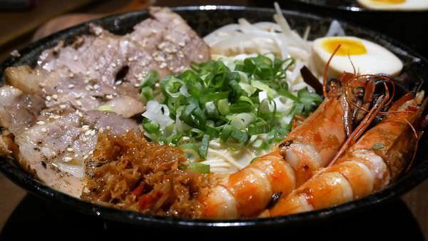 『山本堂拉麵台南館』海老草蝦干貝絲的超鮮拉麵