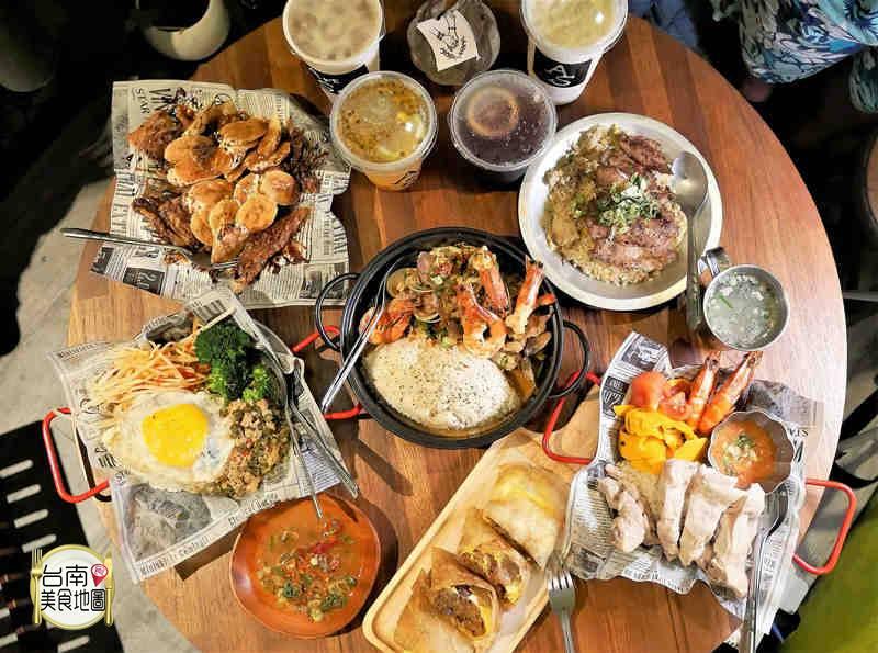 【台南-中西區美食】隱藏在巷弄裡的老屋小店,來嚐嚐有故事的美味料理/PUB裝潢/座位有限建議預約