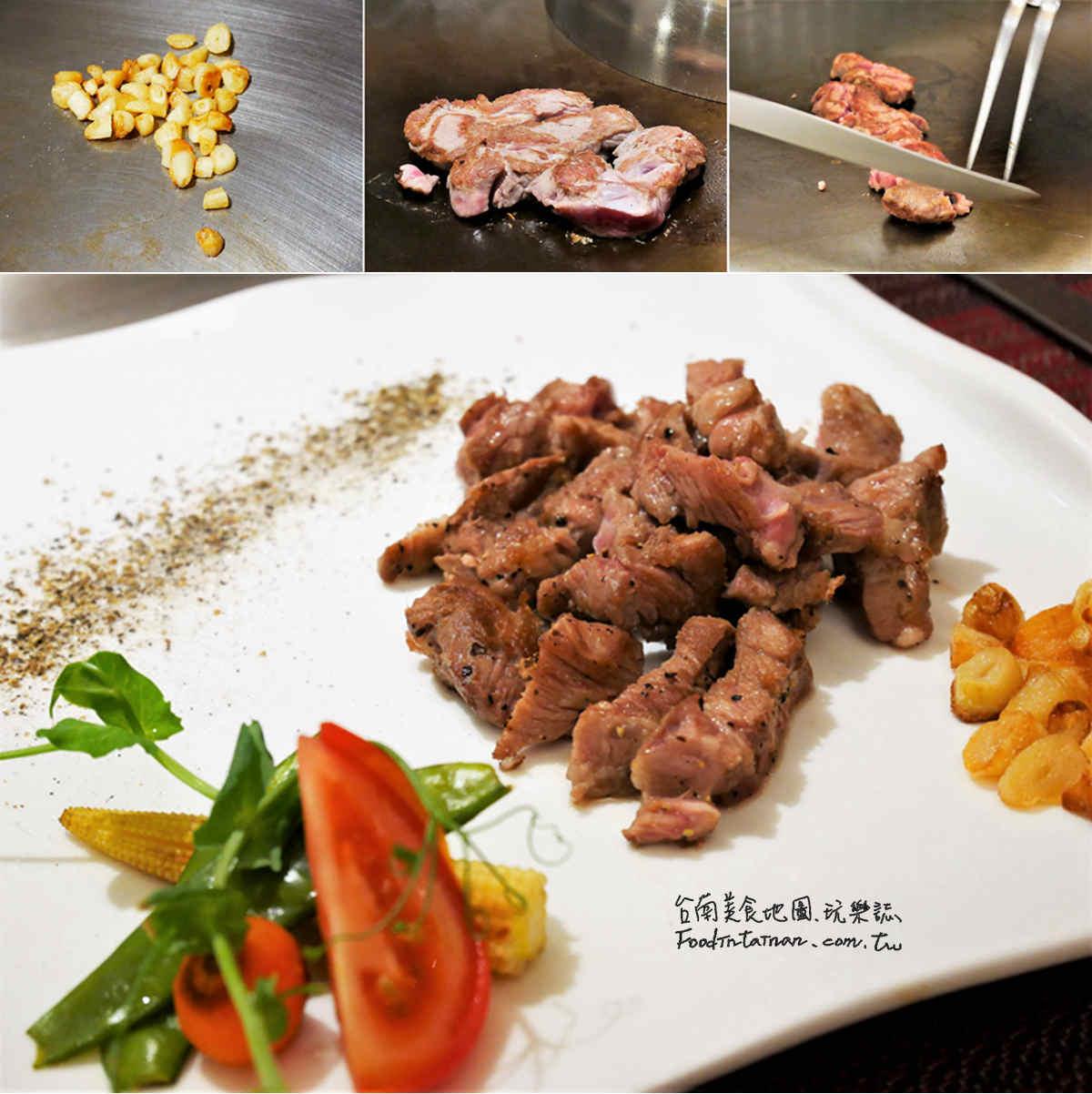 台南美食-真炙鐵板料理