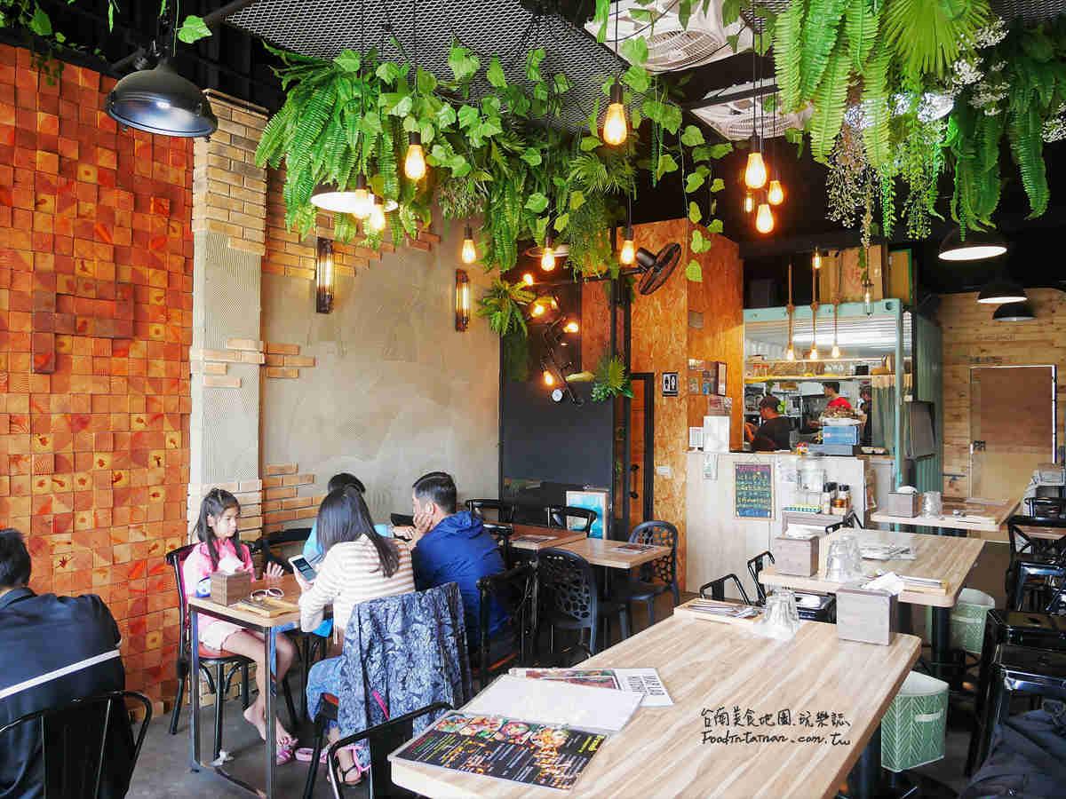 台南美食低脂養生健康素食輕沙拉-旅圖 MAP LAB Kitchen 無國界早午餐