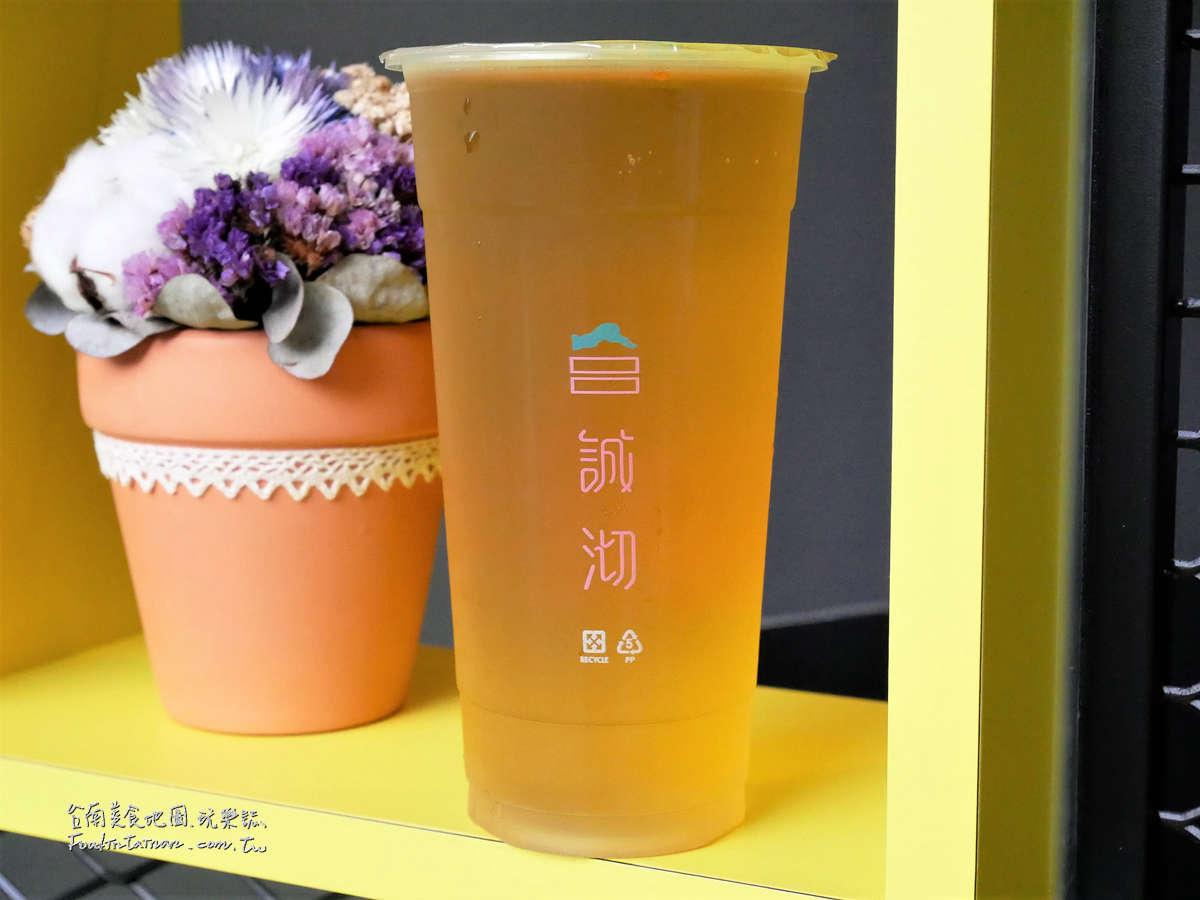 台南手搖杯飲料推薦-誠沏茶飲台南新市店
