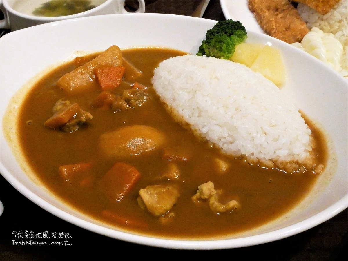 台南午餐晚餐簡餐外送美食推薦-老夫子咖哩屋