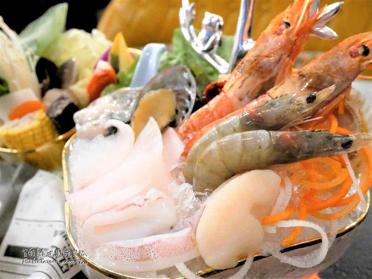 台南聚餐網美店推薦-金大尉不只是鍋物-台南德安店
