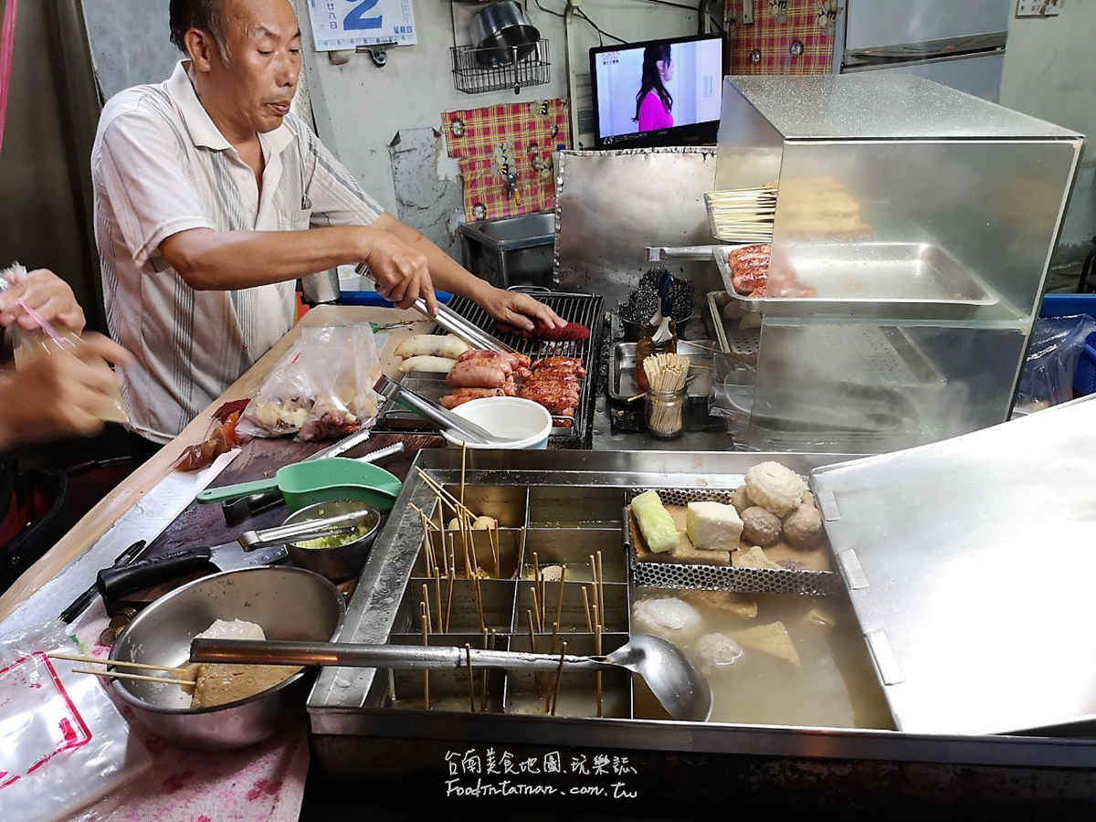 台南推薦台式平價宵夜點心下午茶-林森路無名大腸香腸關東煮