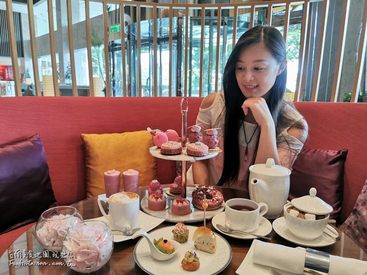 台南下午茶推薦其間限定限量販售紅寶石巧克力套餐甜點-Shangri-La Tainan 香格里拉台南遠東國際大飯店
