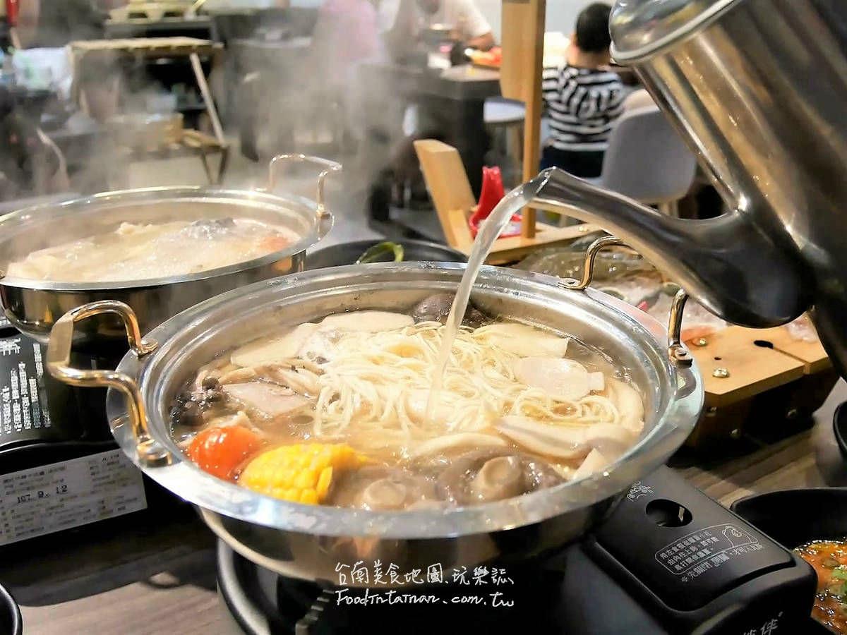 台南推薦午餐晚餐平價自煮高湯火鍋店-丞恬鍋物 Coming hot pot