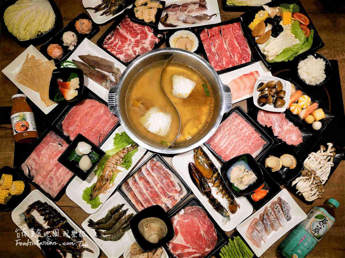 台南推薦午餐晚餐宵夜超高CP值海鮮水產豬肉牛肉火鍋超市-祥富水產-台南新天地店