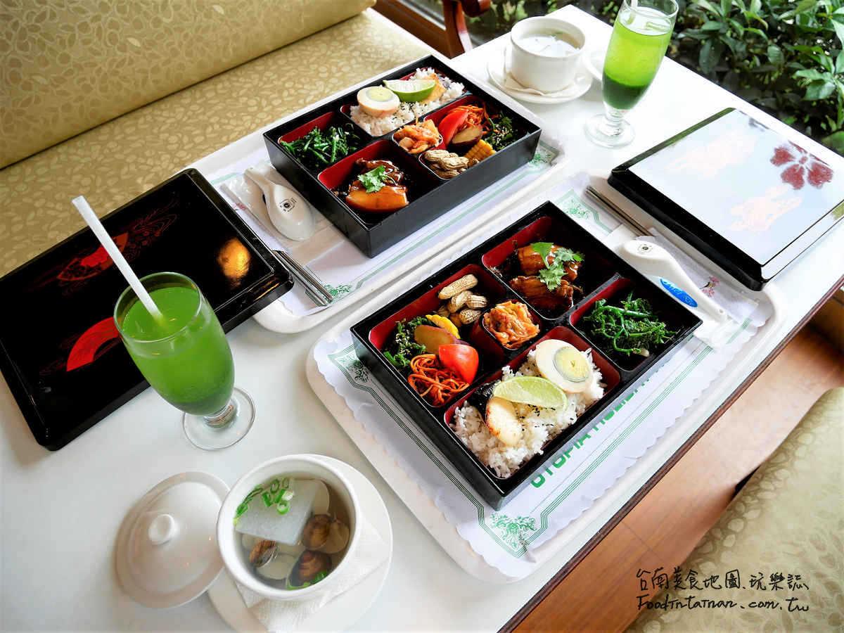 台中推薦第一間首間溫泉旅館商務精緻預約客製化訂製日式便當-谷關神木谷假期大飯店