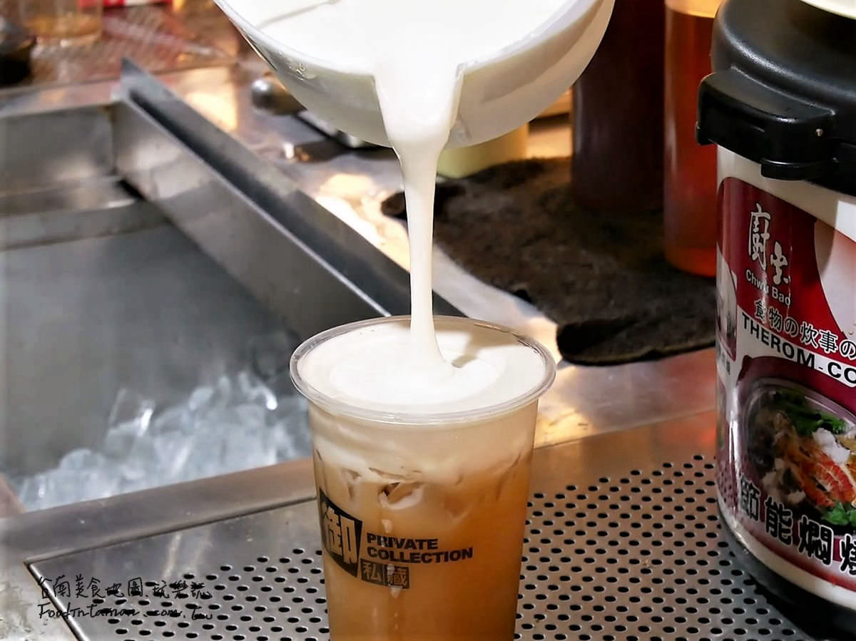台南推薦使用職人小農鮮奶特調平價外帶手搖飲料的舒適內用環境三代店-御私藏大同概念店