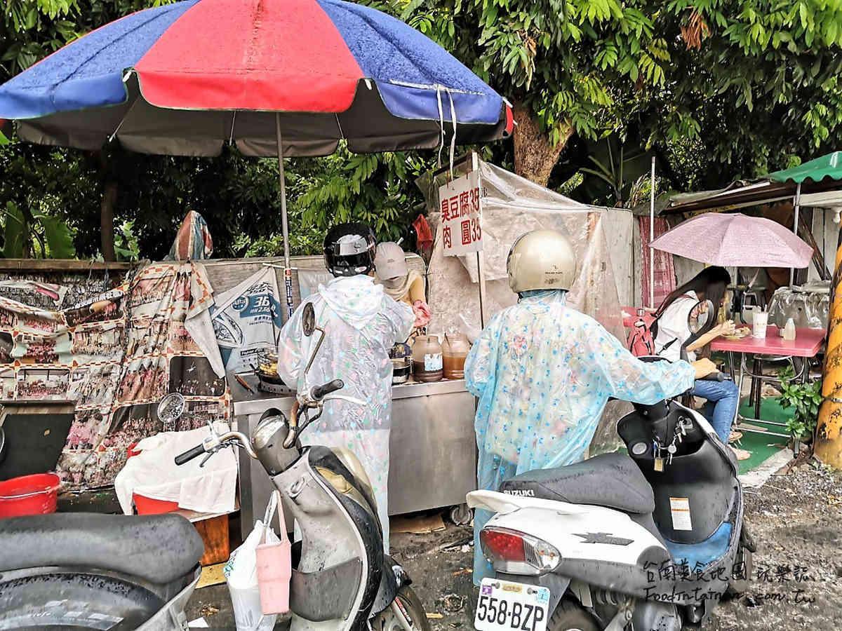 台南永康地區推薦在地人國民平民平價下午茶點心無名小吃-忠孝路臭豆腐