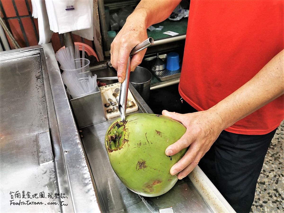 台南推薦一甲子蓮藕茶楊桃湯汁椰子原汁水的古早味涼水老攤-阿福涼茶