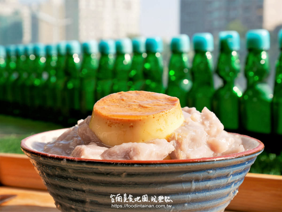 台南安平區推薦新鮮當季水果草莓芒果蜜芋頭剉冰刨冰復古復刻古早味冰店-南泉冰菓室