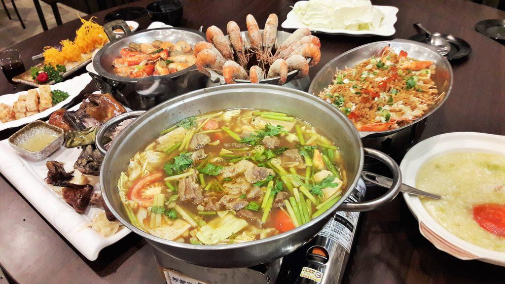 【台南-安平區美食】寬水庭園 物超所值的活蝦、甕仔雞餐廳