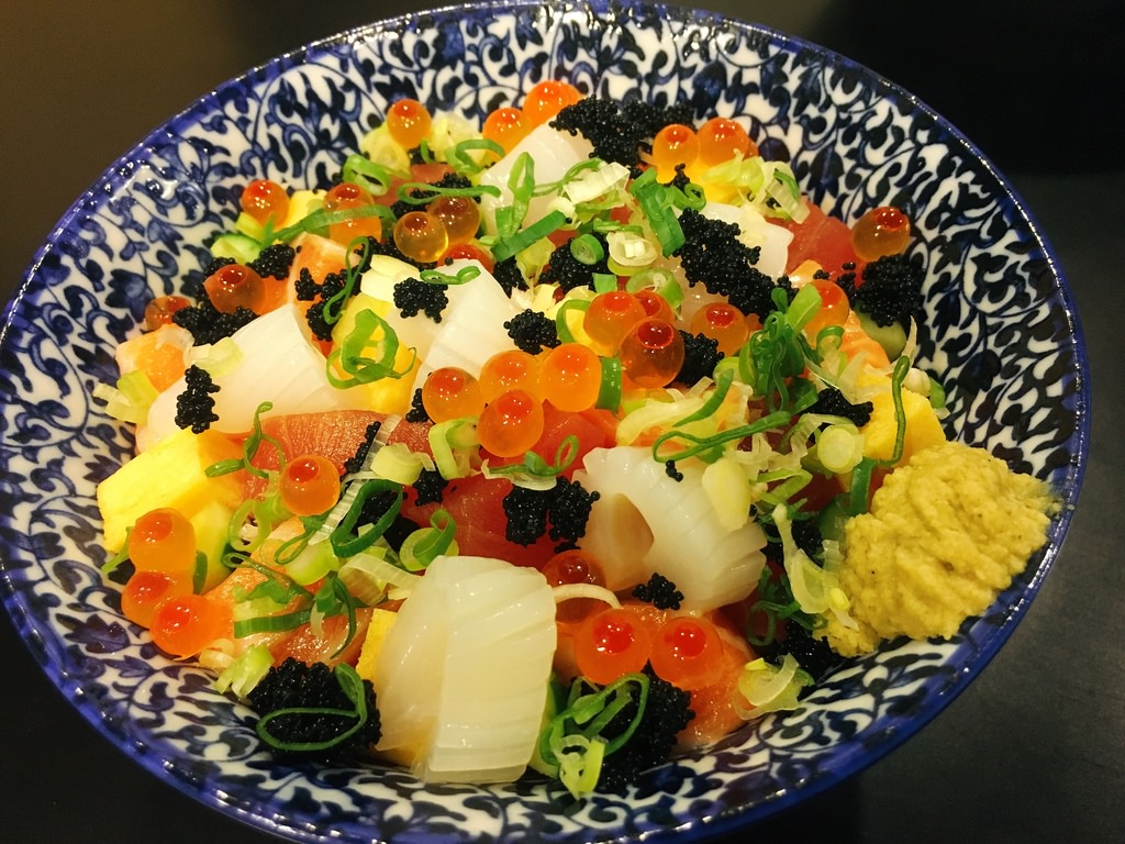 【台南市永康區】盛。丼 學區內的新鮮生魚丼飯與炙燒黑牛丼