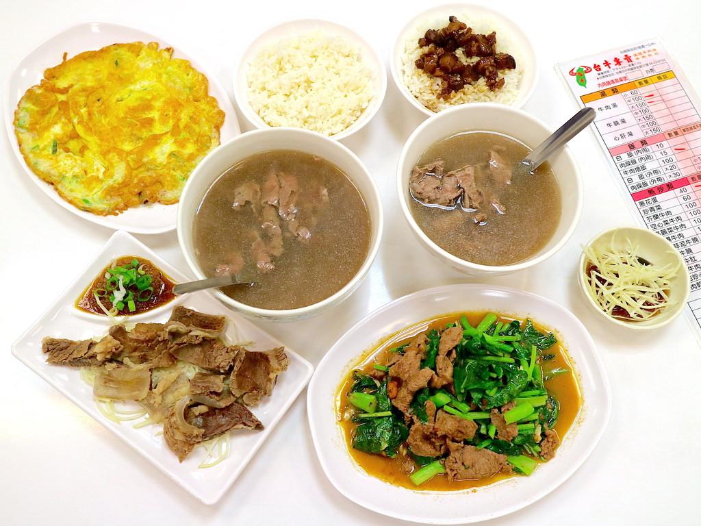 【台南市-中西區美食】台南最便宜牛肉湯,只要六十元!每日善化直送溫體牛,品嚐最鮮甜的滋味@台牛牛肉湯-保安路店